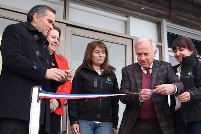Exitosa inauguración del Centro de Extensión Hortícola.
