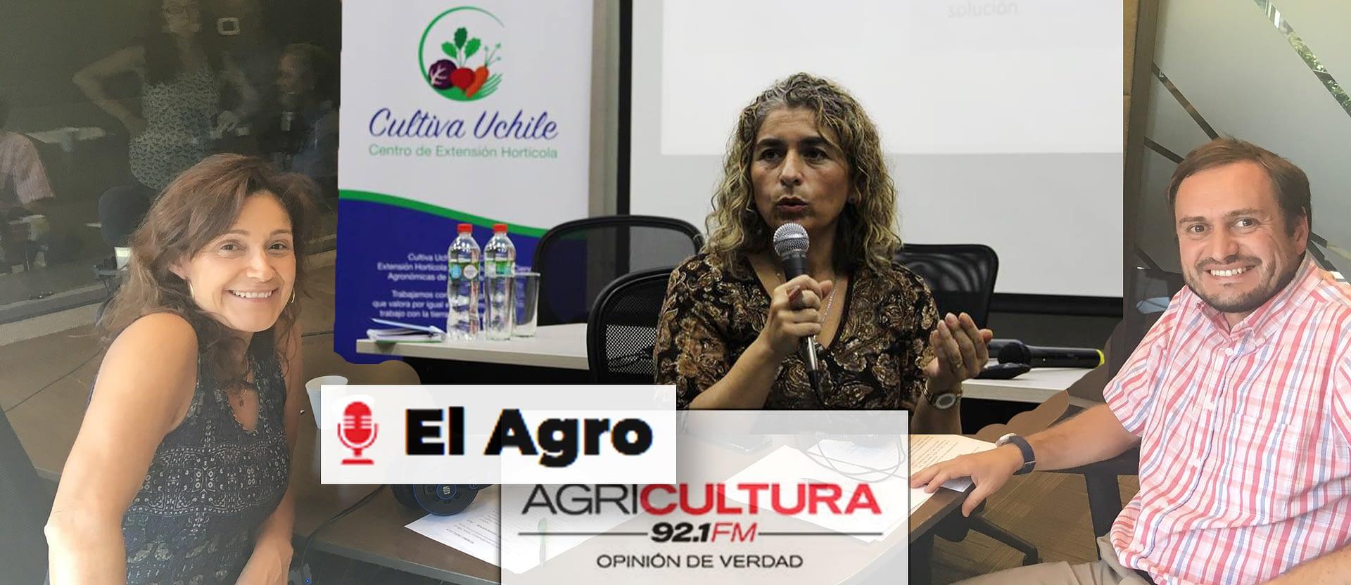 Entrevista a Directora de Cultiva UChile en Radio Agricultura.