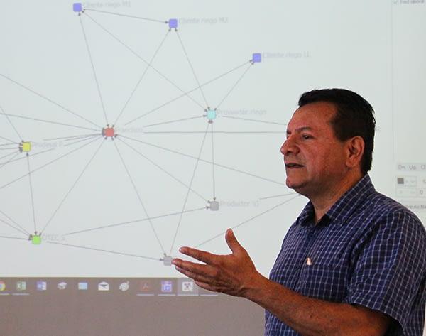 Finaliza curso de análisis de redes sociales territoriales con Profesor de la Universidad Nacional de Costa Rica.