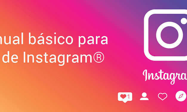 Manual básico para aprender a usar instagram