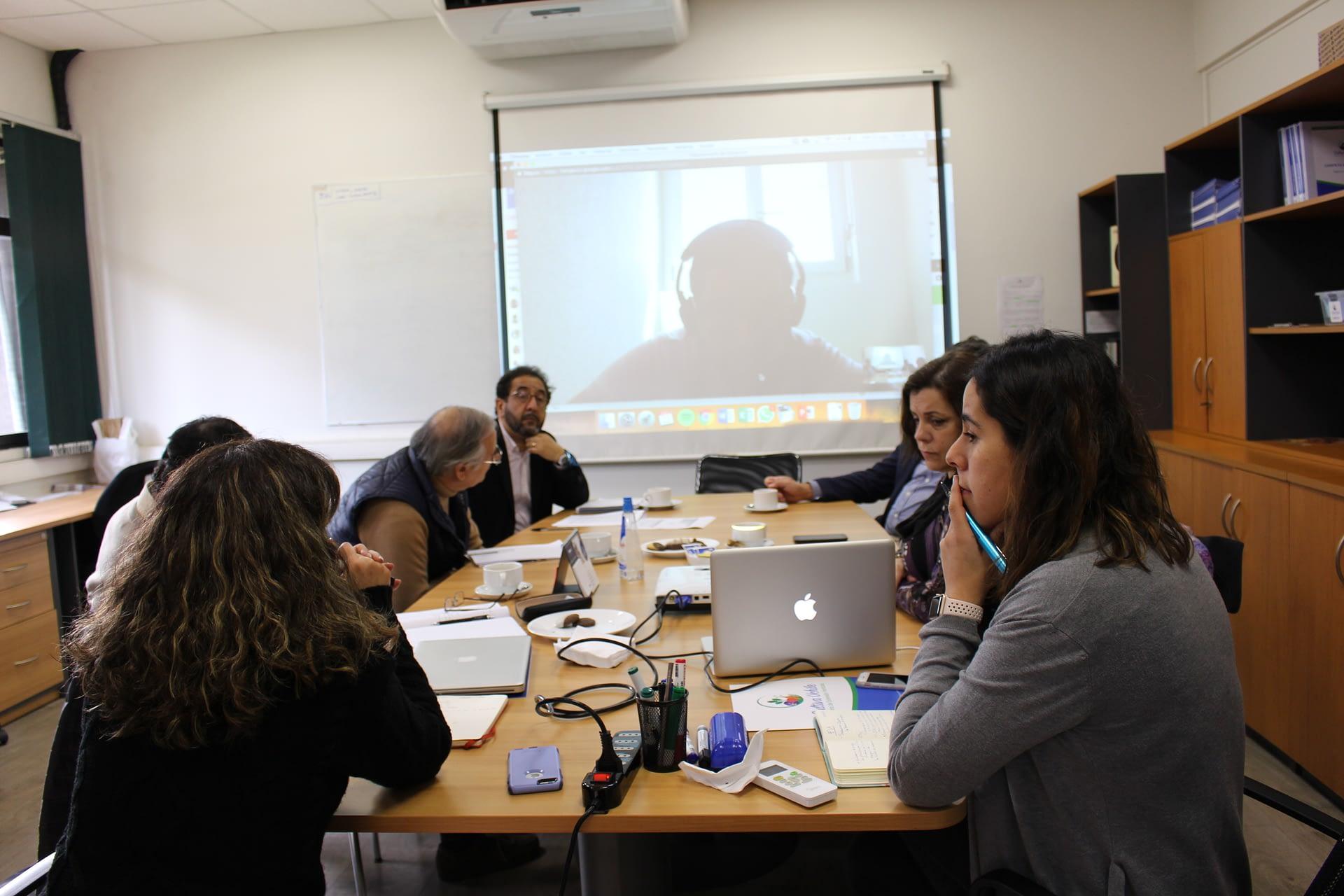 Reunión de Coordinación Interinstitucional