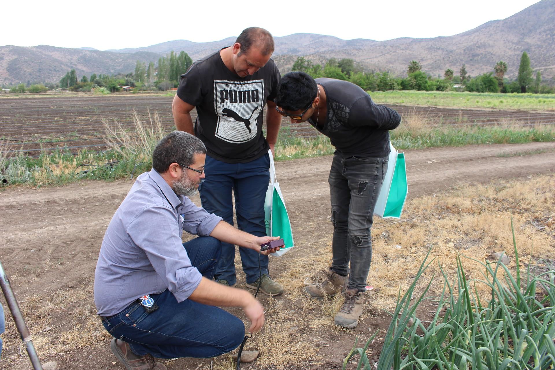 Exitoso Día de Campo, uso eficiente de Agua en Cultivos Hortícola