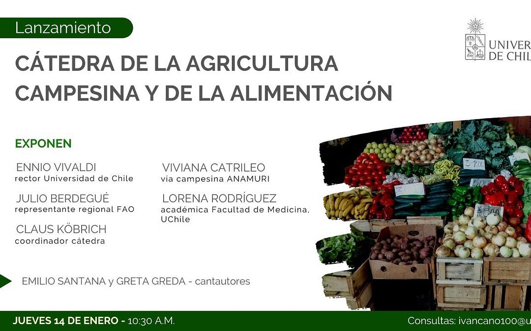 Nueva Cátedra de la Agricultura Campesina y de la Alimentación