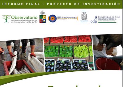 Derecho a la alimentación en la Constitución Chilena. Fundamento y conceptos participativos.