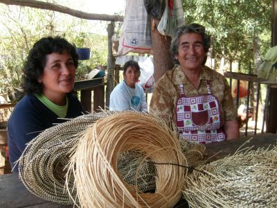 Rescate de tradiciones ancestrales producto de la paja del trigo